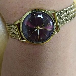 Jewelry - Henry London Ladies Holborn watch gold and red